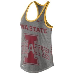 Nike Iowa State Racerback Tank Top Womens Medium